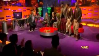 JLS on The Graham Norton Show (Do You Feel What I Feel) 25th Nov 2011 Interview