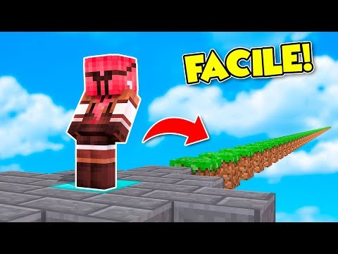 Minecraft ITA - LA MAPPA PIU' FACILE DI MINECRAFT!!