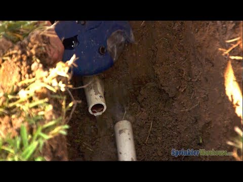 Trenching, Pipes, & Sprinklers