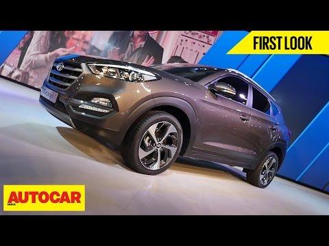 Hyundai Tucson First Look