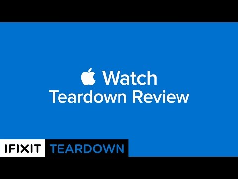 iFixit Does the Apple Watch Teardown!