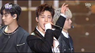 Gambar cover iKON - '죽겠다(KILLING ME)' + '사랑을 했다 (LOVE SCENARIO)' in 2018 SBS Gayodaejun
