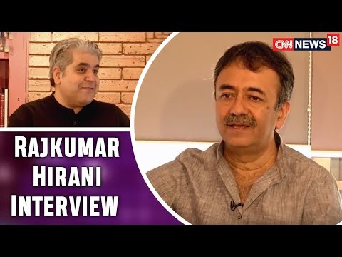 Rajeev Masand with Rajkumar Hirani @ RHF Office   Sanju Movie & More   CNN News18