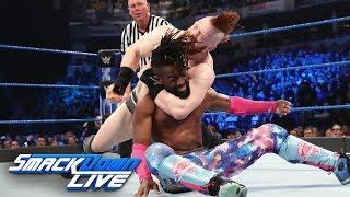 Kofi Kingston vs. Sheamus  - Gauntlet Match Part 1: SmackDown LIVE, March 19, 2019