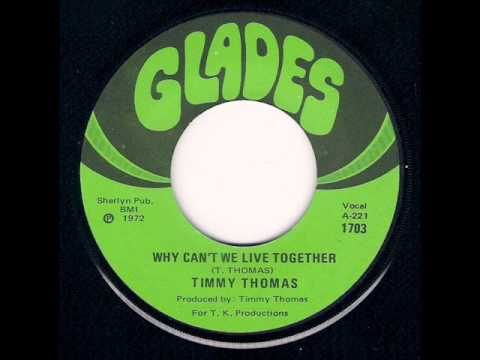 Timmy Thomas Why Cant We Live Together Funky Me