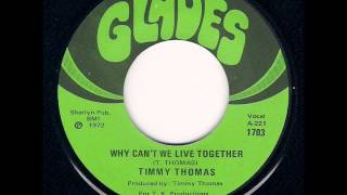 Timmy Thomas   Why Can't We Live Together (1973)