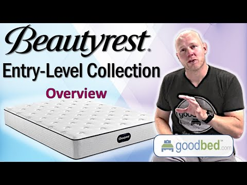 Beautyrest Entry-Level Mattress Options EXPLAINED by GoodBed (Video)