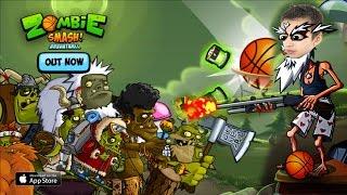Забей мяч - Убей Зомби Zombie Smash Basketball