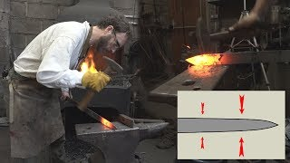 Forging a sword - part one: the basic shape