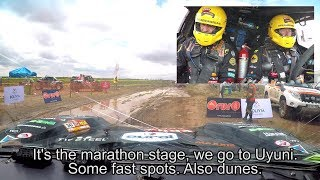 The last minutes before a Dakar special, what do you talk about? Coronel stage 8 Dakar 2018
