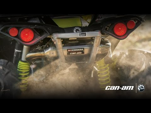 Вихлопні системи Yoshimura для Can-Am Off-Road