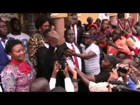 Bobi Wine visit MP Francis Zaake