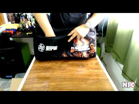 Unboxing #1 - Mochila Gamer Sharkoon (Modelo Kabum)