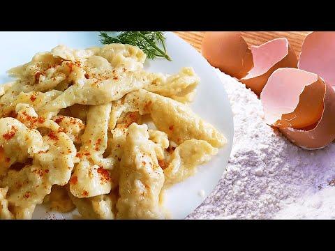 👌 Egg Dumplings (Flour Dumplings Recipe #1) ✅