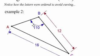 8 5 Law Of Sines