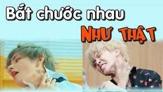 [ BTS funny moments # 9] Bắt chước nhau như thật (Phần 1) =))))(BTS imitating each other)