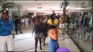 Eskom Load Shedding At A Cape Town Mall