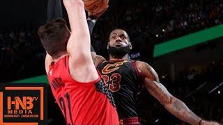 Cleveland Cavaliers vs Portland Trail Blazers Full Game Highlights / March 15 / 2017-18 NBA Season