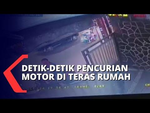 pencurian motor dalam waktu singkat korban padahal gerbang ditutup