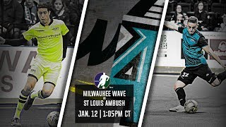 Milwaukee Wave vs St Louis Ambush