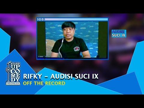 Stand Up Comedy Rifky, Bit Terakhir Paling Bikin Juri Ngakak - AUDISI SUCI IX