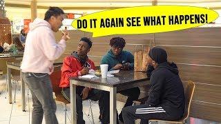 Eating People's Food Prank in Memphis!