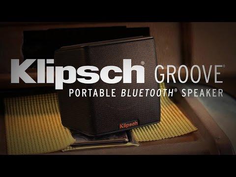 Klipsch Groove Portable Bluetooth® Speaker