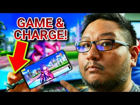 Smartphone Gaming On The Big Screen While Charging! (Choetech Type C to HDMI Cable Review)