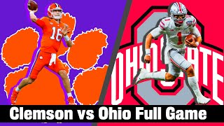 Sugar Bowl -  Ohio State Buckeyes vs Clemson Tigers - Full Game 60fps