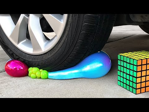 Crushing Crunchy & Soft Things by Car! - Floral Foam, Squishy, Tide Pods and More!