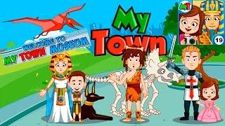 Мой Город - My town - #19 Музей - Museum. Симулятор Семьи, развивающая игра для детей как мультик.