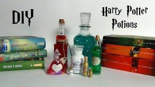 DIY Harry Potter Potions