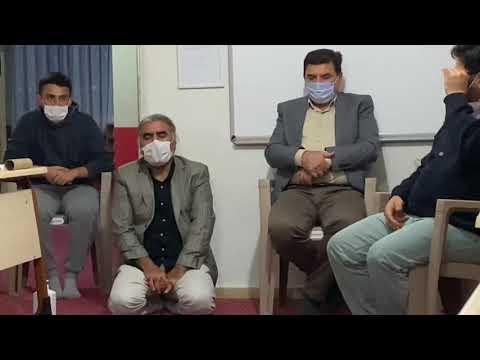 İHSANİDER Yönetim Kurulu Toplantısı ve Covid-19 Bilgilendirilmesi sonrası Kur'an Tilaveti.
