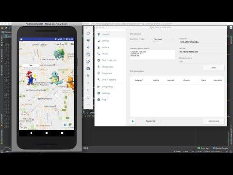 56 -Android Pokemon ||  Show Pokemon's on Map- عرض  البوكيمون على الخريطة