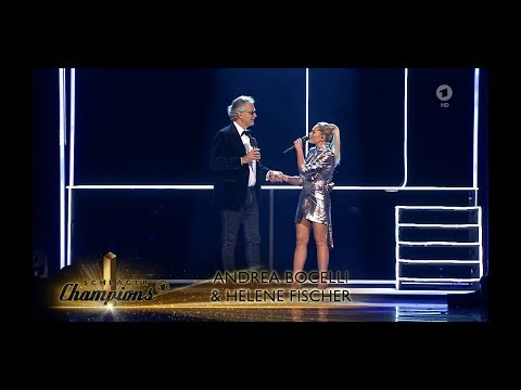 Andrea Bocelli And Helene Fischer - If Only Live At 'Schlager Champions' - Andrea Bocelli