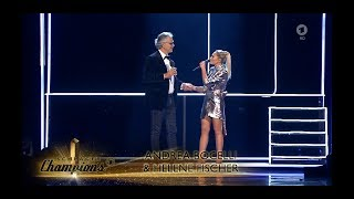 Andrea Bocelli And Helene Fischer   If Only Live At 'Schlager Champions'