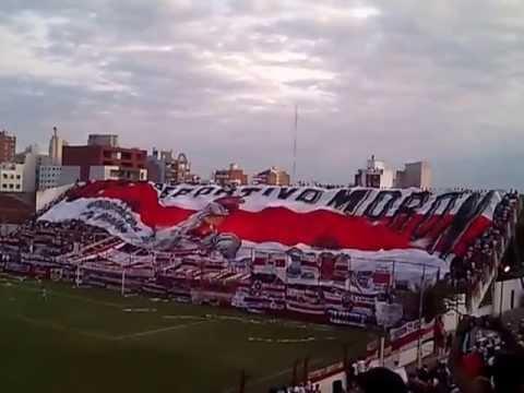 """""""Dep. Moron Vs. Chacarita - Salida del Equipo - (Video Nº 5)"""" Barra: Los Borrachos de Morón • Club: Deportivo Morón"""