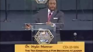 Dr. Myles Monroe: Cultivate Leadership Skills