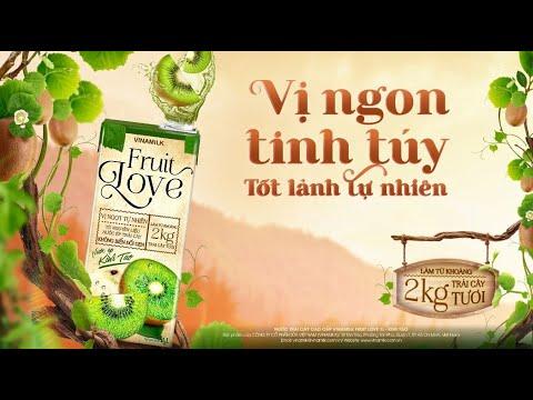 Nước trái cây cao cấp Vinamilk Fruit Love 1L- Vị ngon tinh túy, tốt lành tự nhiên