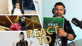 Vize REACT TO Shirin David, Hava & Ilira ⚡ JAM FM
