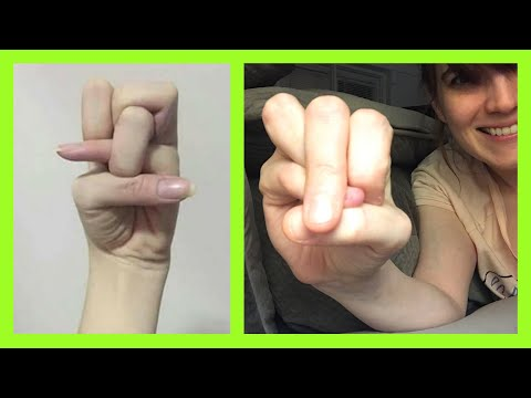 How To Do The Chinese Bent Finger Challenge And Trick!