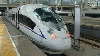 Bullet Train - Shanghai to Beijing - 1318 kilometers (819 miles) in 4 Hrs 55 mins