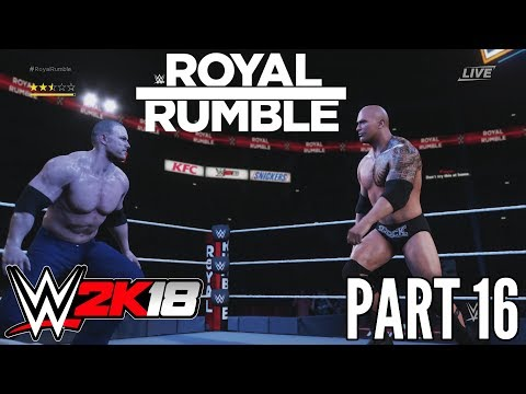 WWE 2K18 #16 | MY CAREER MODE - PPV ROYAL RUMBLE |