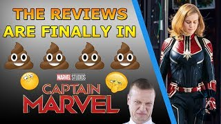 "Captain Marvel Reviews: IT STINKS!  ""Boring, Selfish & Flawed"""