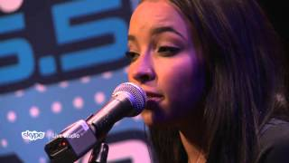 Tinashe - Bated Breath (Live 95.5's Skype Live Studio)