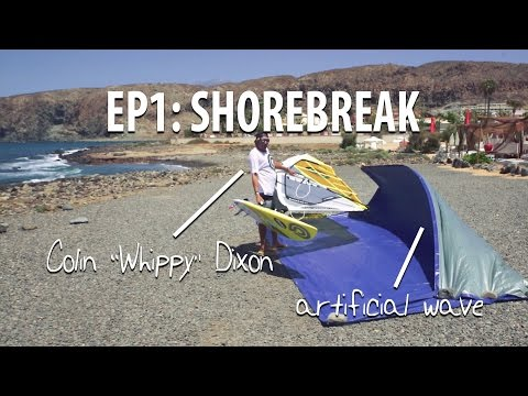 TWS Wave Technique Series – Episode 1: Intro into waves, how to pass the shorebreak.