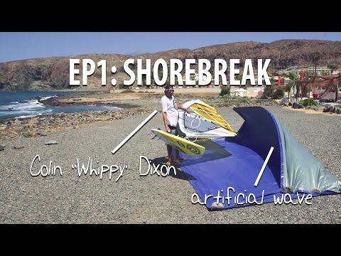 TWS Wave Technique Series – Episode 1: Intro into waves, how to pass the shorebreak.