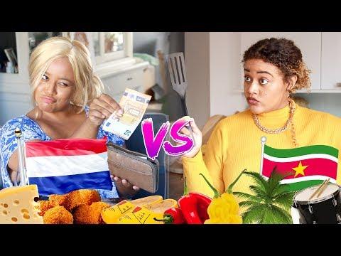 TWEE SOORTEN OPVOEDING ... Nederlands VS Surinaams | Quinsding