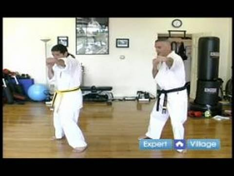 Beginner Kyokushin Karate Techniques : How to Throw a Straight Punch in Kyokushin Karate