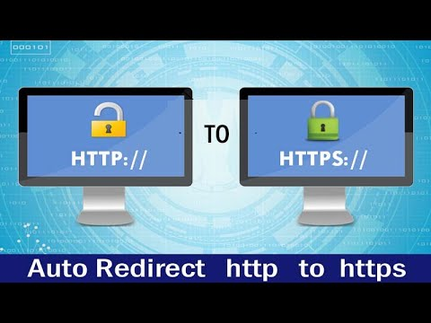 Auto Redirect http to https